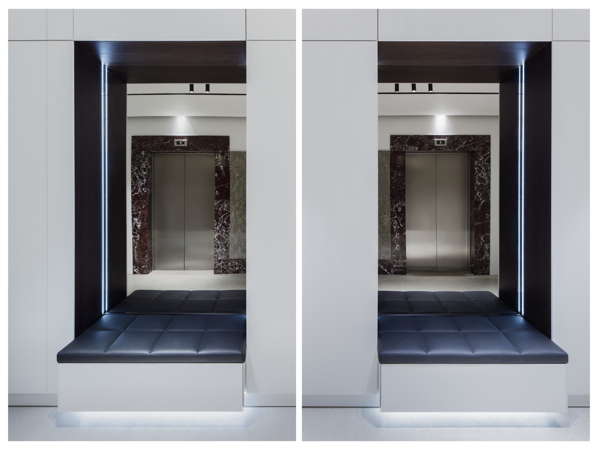 Denisa Strmiskova Studio | spatial design MILLENNIUM RECEPTION LOBBY