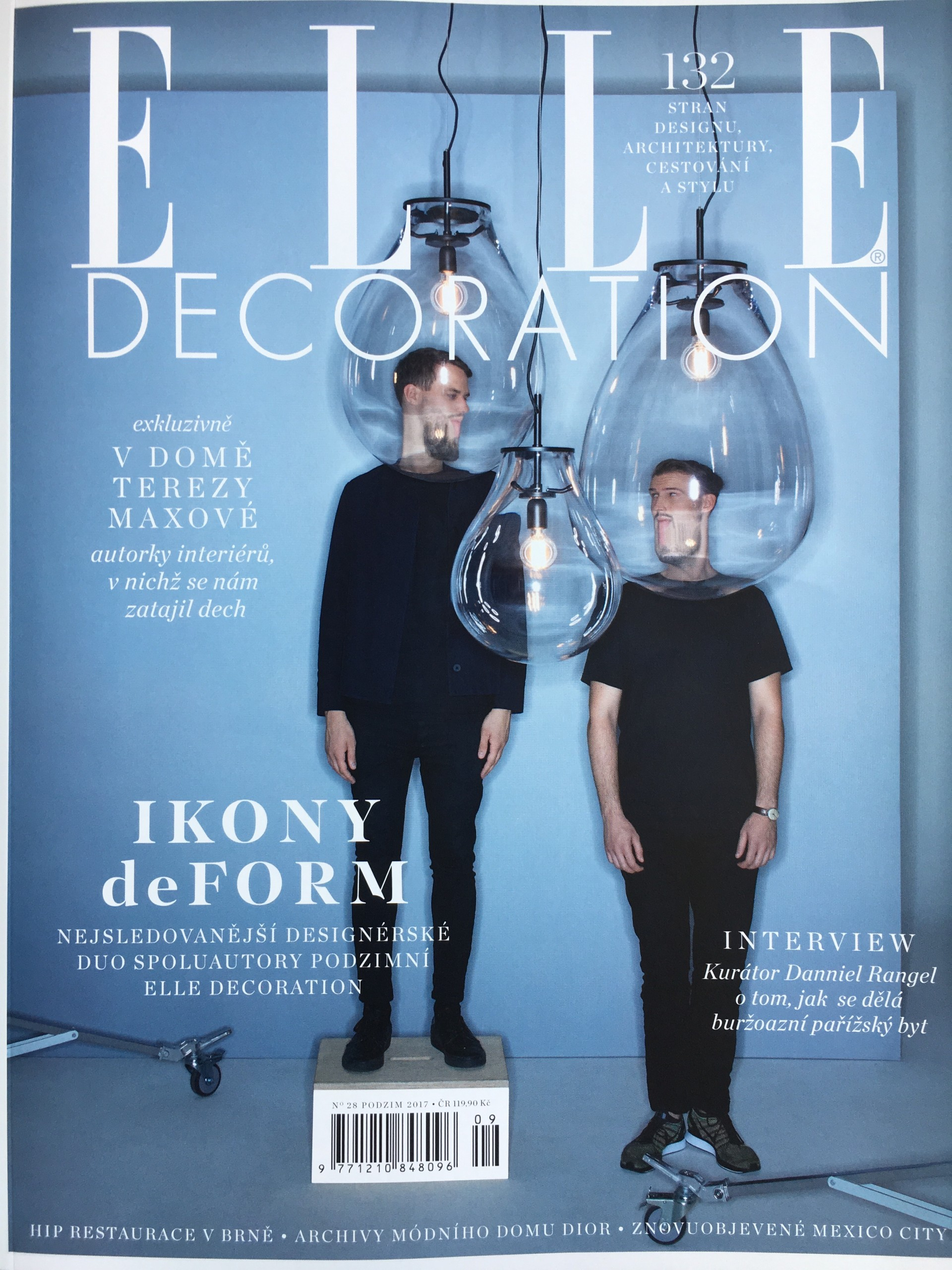 Denisa Strmiskova Studio | spatial design ELLE DECORATION 3/2017