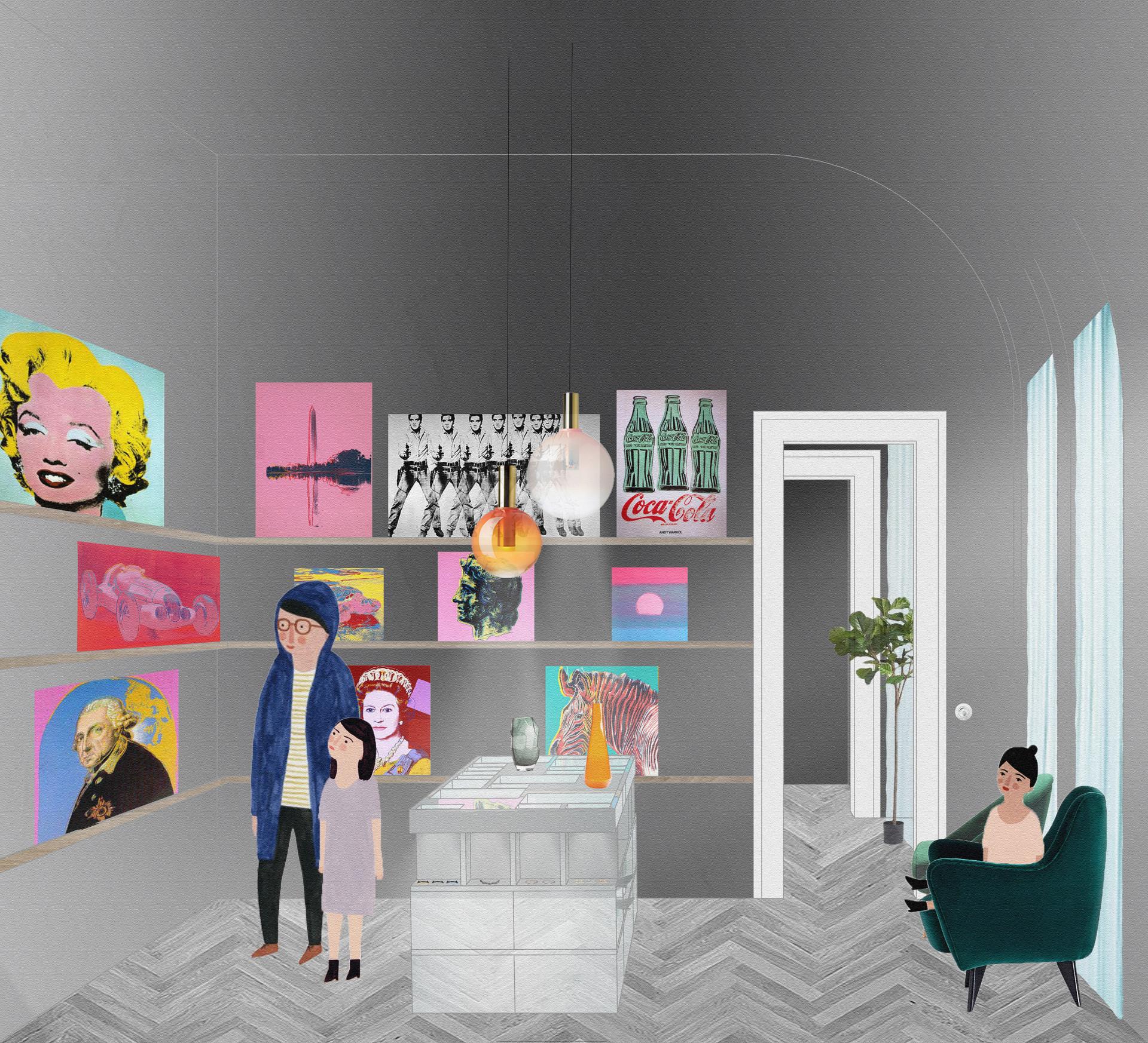 Denisa Strmiskova Studio | spatial design GOAP