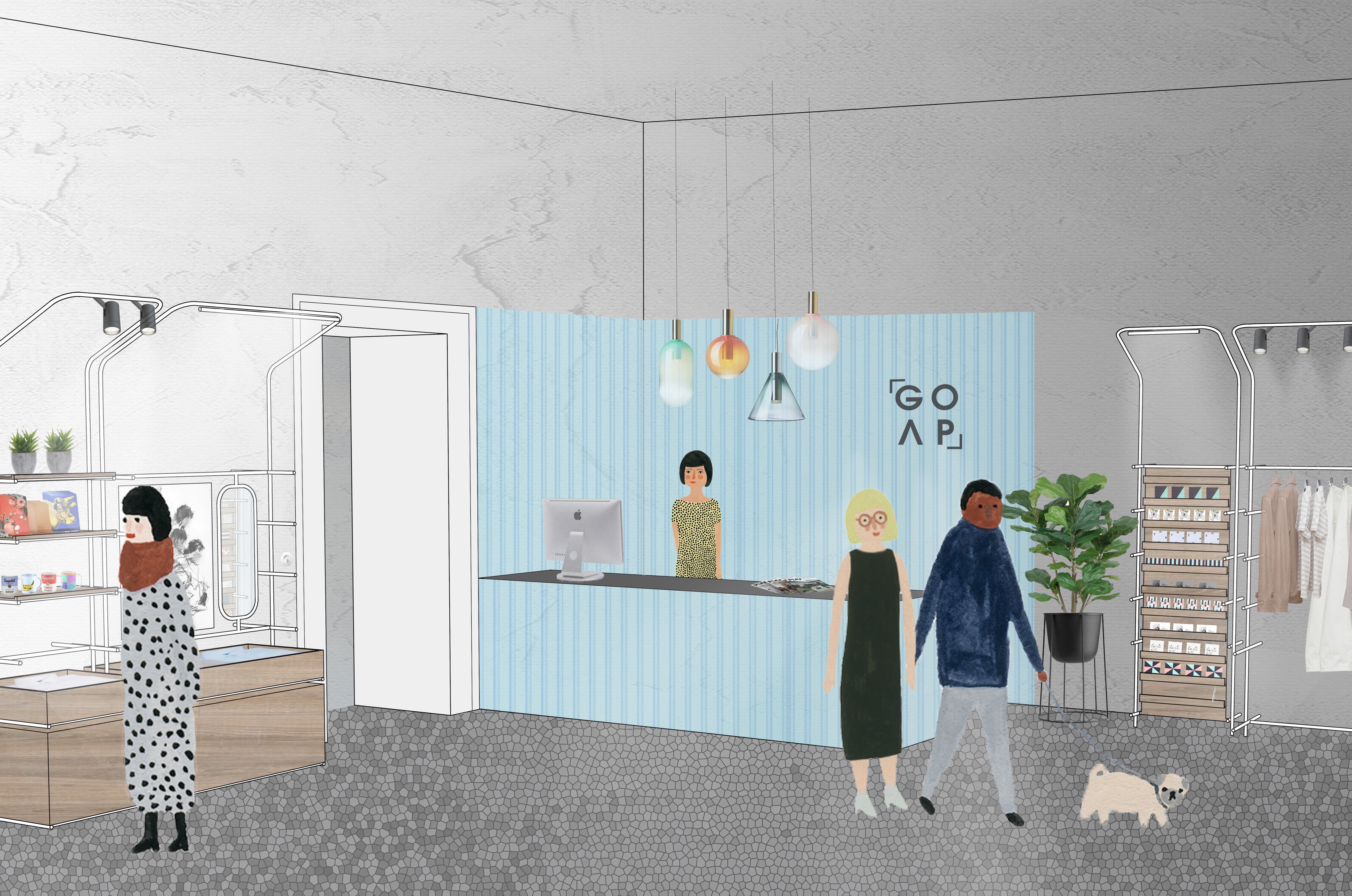 Denisa Strmiskova Studio   spatial design Projects