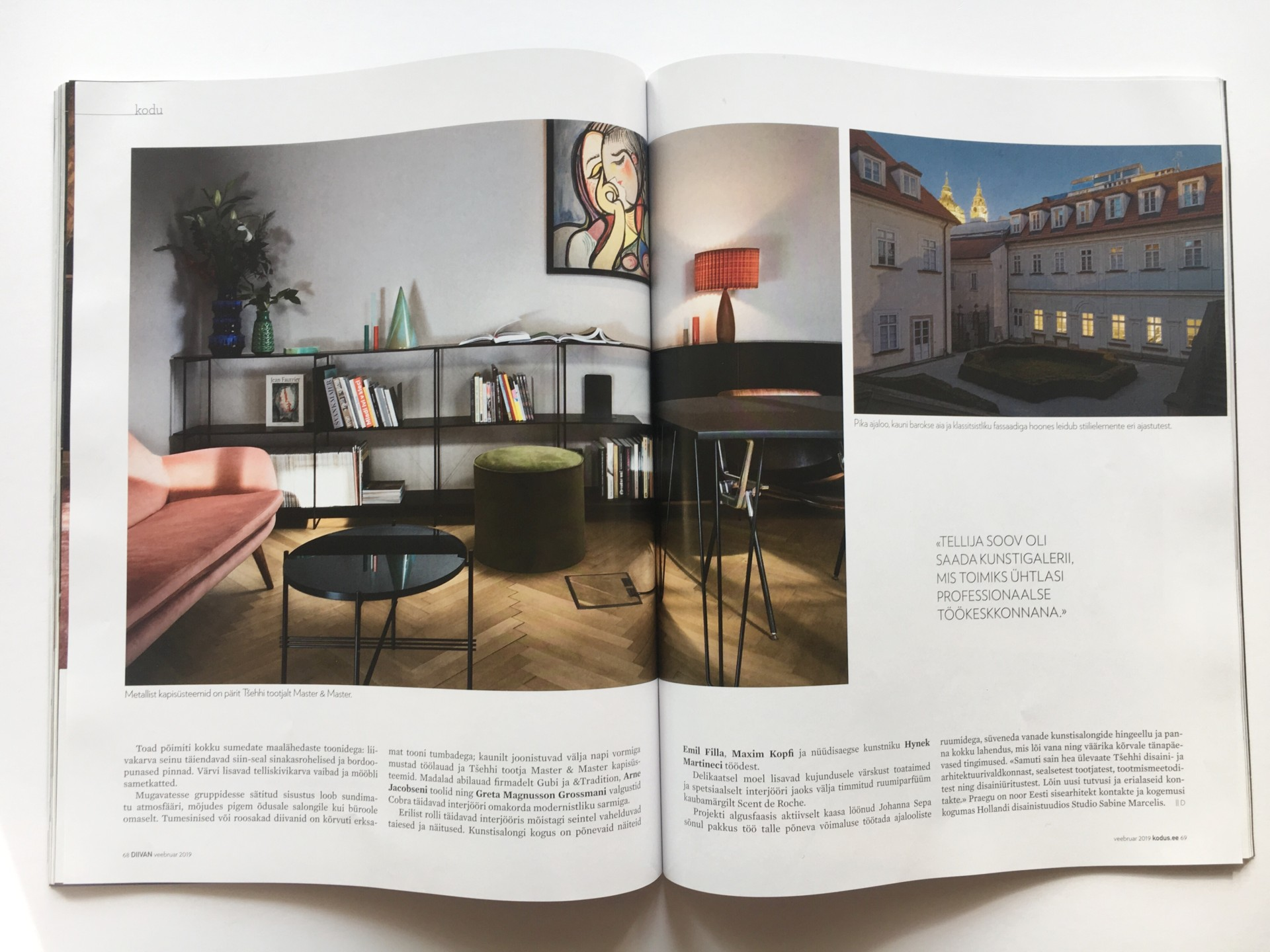 Denisa Strmiskova Studio | spatial design DIVAAN 02/2019