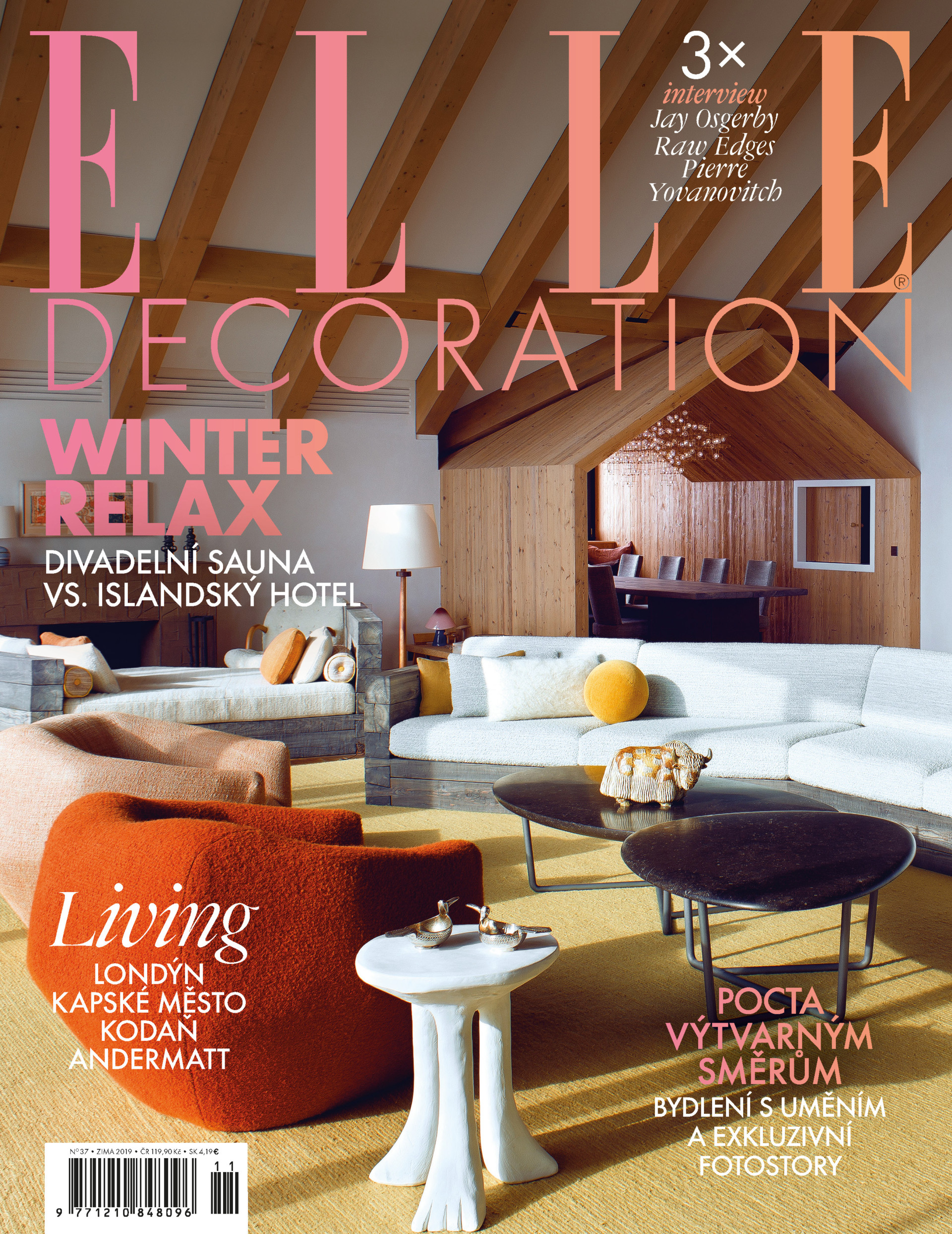 Denisa Strmiskova Studio ELLE DECORATION 2019